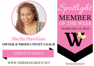 Womanessity Feb 16 Member Spotlight of The Week